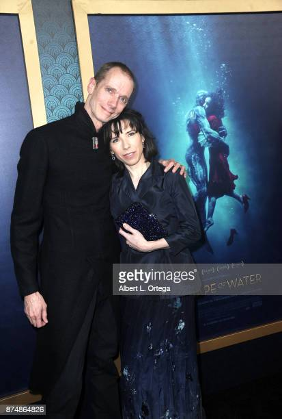 Actor Doug Jones and actress Sally Hawkins arrive for the Premiere Of Fox Searchlight Pictures' 'The Shape Of Water' held at Academy Of Motion...