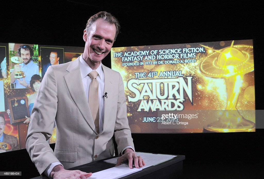Actor Doug Jones of 'Falling Skies' reads the 2015 Saturn Award Nominations for the 31st Annual show to be held June 25th read live at StreamTV...