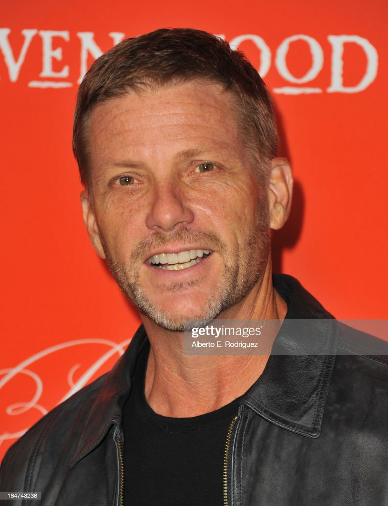 Actor <a gi-track='captionPersonalityLinkClicked' href=/galleries/search?phrase=Doug+Savant&family=editorial&specificpeople=693345 ng-click='$event.stopPropagation()'>Doug Savant</a> attends a screening of ABC Family's 'Pretty Little Liars' Halloween episode at Hollywood Forever Cemetery on October 15, 2013 in Hollywood, California.