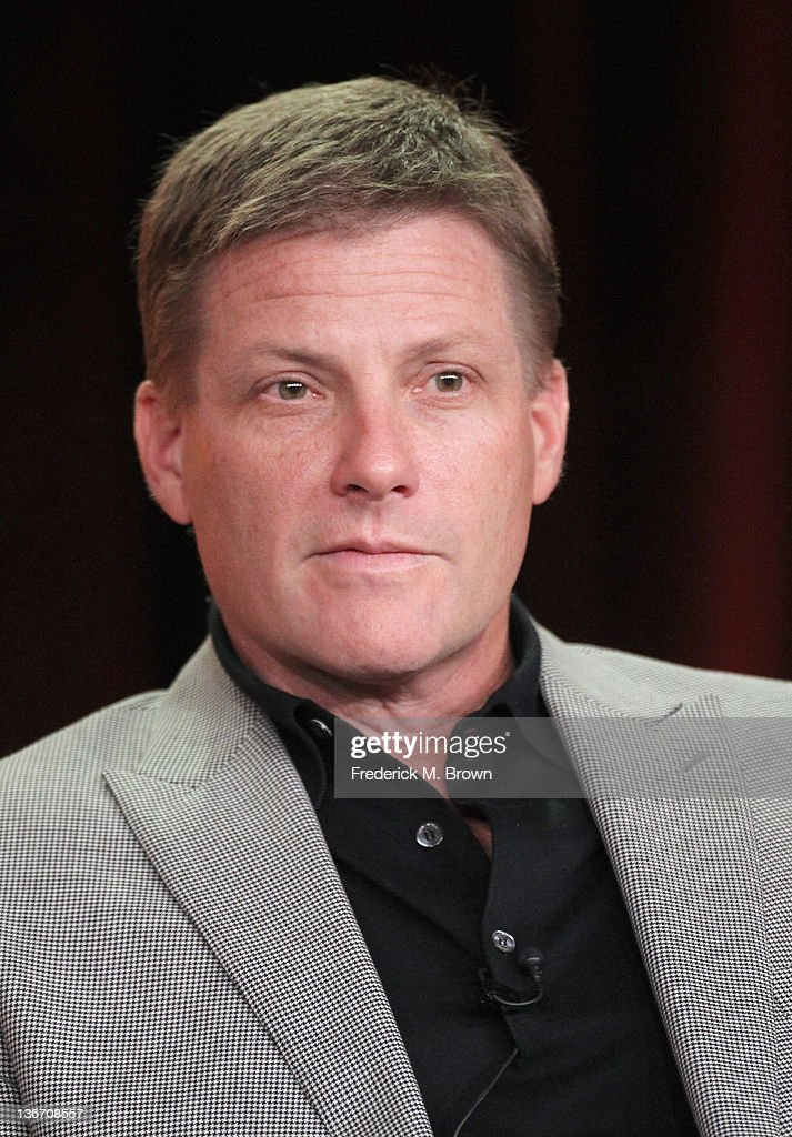 Actor Doug Savant speaks during the 'Desperate Housewives' panel during the ABC portion of the 2012 Winter TCA Tour held at The Langham Huntington Hotel and Spa on January 10, 2012 in Pasadena, California.