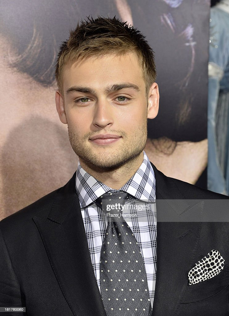 Actor Douglas Booth arrives at the premiere of Relativity Media's 'Romeo And Juliet' at ArcLight Cinemas on September 24, 2013 in Hollywood, California.