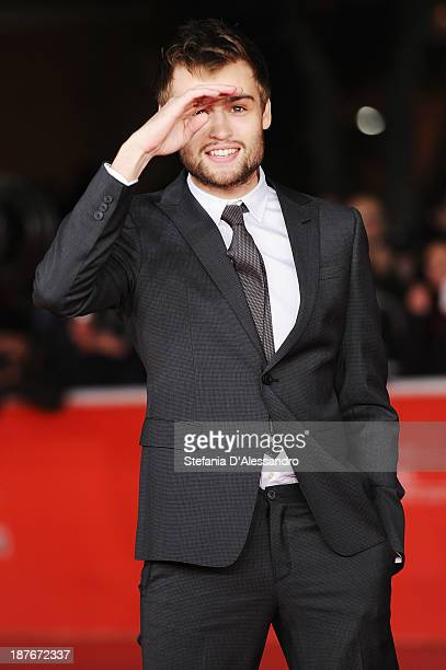 Actor Douglas Booth attends 'Romeo And Juliet' Premiere during The 8th Rome Film Festival on November 11 2013 in Rome Italy