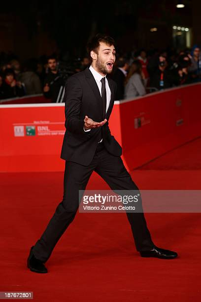Actor Douglas Booth attends 'Romeo And Juliet' Premiere during The 8th Rome Film Festival at Auditorium Parco Della Musica on November 11 2013 in...