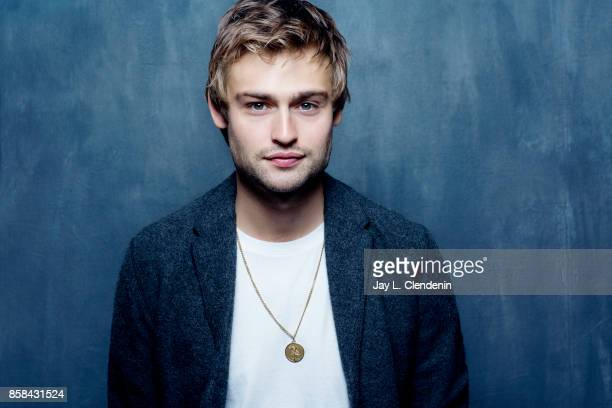 Actor Douglas Booth from the film 'Mary Shelley' poses for a portrait at the 2017 Toronto International Film Festival for Los Angeles Times on...