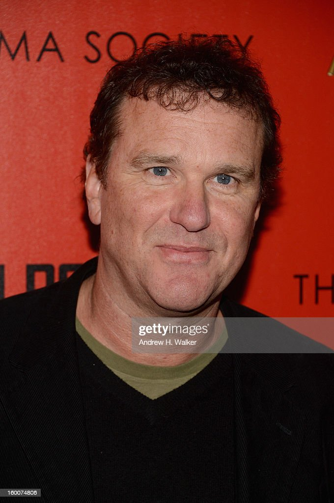 Actor Douglas Hodge attends a screening of 'Warm Bodies' hosted by The Cinema Society at Landmark's Sunshine Cinema on January 25, 2013 in New York City.