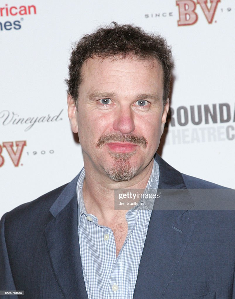 Actor <a gi-track='captionPersonalityLinkClicked' href=/galleries/search?phrase=Douglas+Hodge&family=editorial&specificpeople=690764 ng-click='$event.stopPropagation()'>Douglas Hodge</a> attends 'Cyrano De Bergerac' Broadway Opening Night After Party at American Airlines Theatre on October 11, 2012 in New York City.