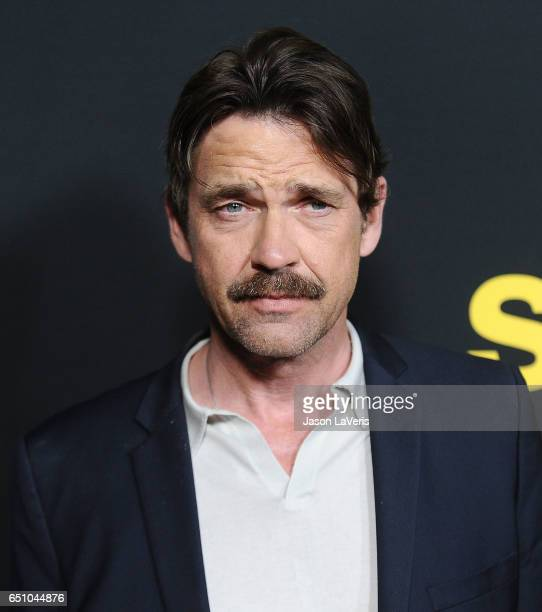 Actor Dougray Scott attends the premiere of 'Snatch' at Arclight Cinemas Culver City on March 9 2017 in Culver City California