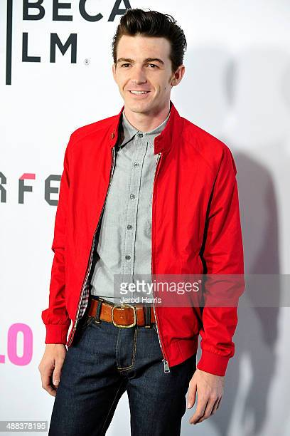 Actor Drake Bell arrives at Tribeca Film's 'Palo Alto' Los Angeles Premiere on May 5 2014 in Los Angeles California
