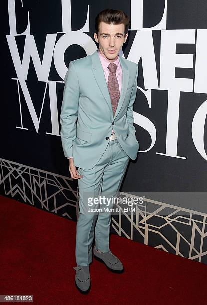Actor Drake Bell attends the 5th Annual ELLE Women in Music Celebration presented by CUSP by Neiman Marcus Hosted by ELLE EditorinChief Robbie Myers...