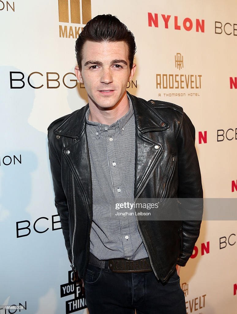 Actor <a gi-track='captionPersonalityLinkClicked' href=/galleries/search?phrase=Drake+Bell&family=editorial&specificpeople=215051 ng-click='$event.stopPropagation()'>Drake Bell</a> attends the Nylon + BCBGeneration May Young Hollywood Party at Hollywood Roosevelt Hotel on May 8, 2014 in Hollywood, California.
