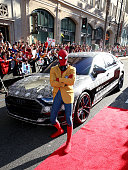Audi Arrives At The World Premiere Of 'Spider-Man:...