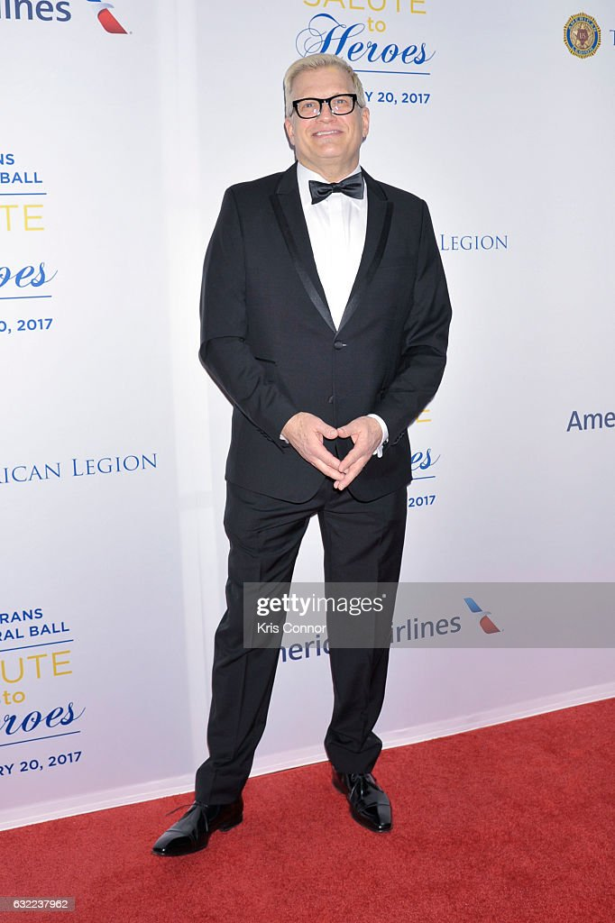 Actor Drew Carey attends the Veterans Inaugural Ball at The Renaissance Hotel on January 20, 2017 in Washington, DC.