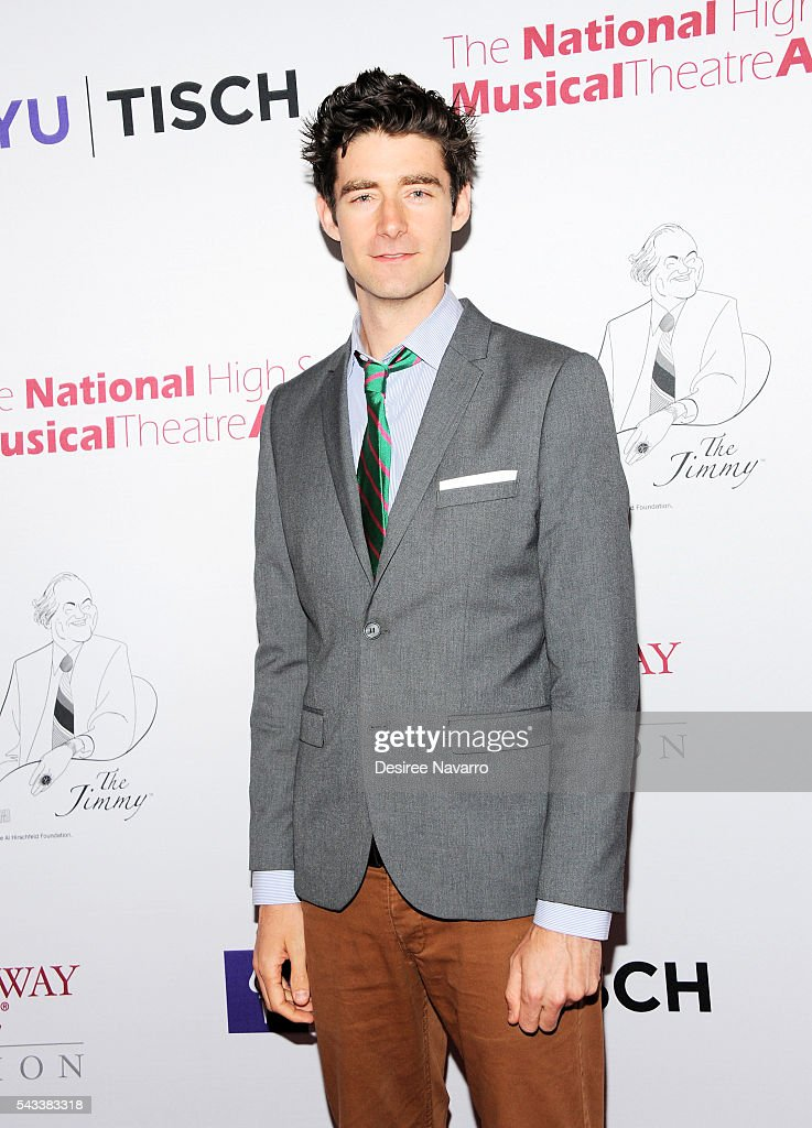 Actor Drew Gehling attends the 8th Annual National High School Musical Theatre Awards at Minskoff Theatre on June 27, 2016 in New York City.