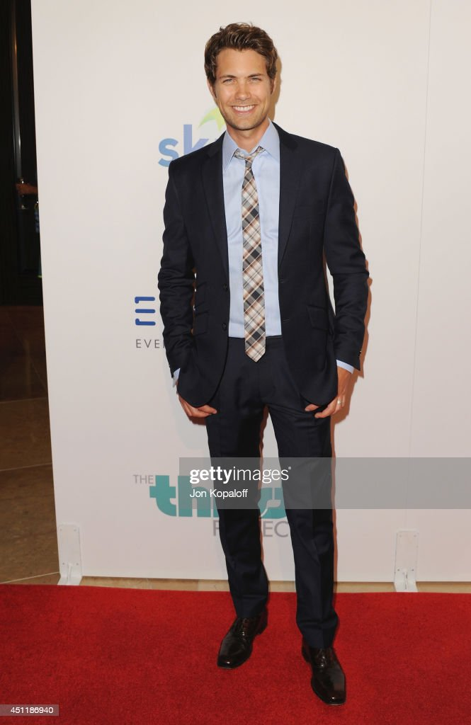 Actor <a gi-track='captionPersonalityLinkClicked' href=/galleries/search?phrase=Drew+Seeley&family=editorial&specificpeople=835160 ng-click='$event.stopPropagation()'>Drew Seeley</a> arrives at the 5th Annual Thirst Gala at The Beverly Hilton Hotel on June 24, 2014 in Beverly Hills, California.