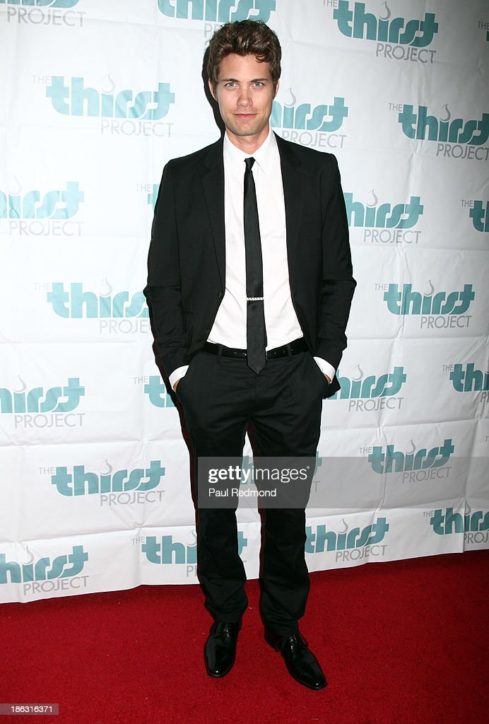 Actor <a gi-track='captionPersonalityLinkClicked' href=/galleries/search?phrase=Drew+Seeley&family=editorial&specificpeople=835160 ng-click='$event.stopPropagation()'>Drew Seeley</a> arrives at The Thirst Project Annual Masquerade Dinner on October 29, 2013 in Glendale, California.