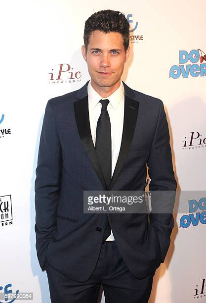 Actor Drew Seeley arrives for the Premiere Of 'Do Over' held at iPic Theaters on August 29 2016 in Los Angeles California