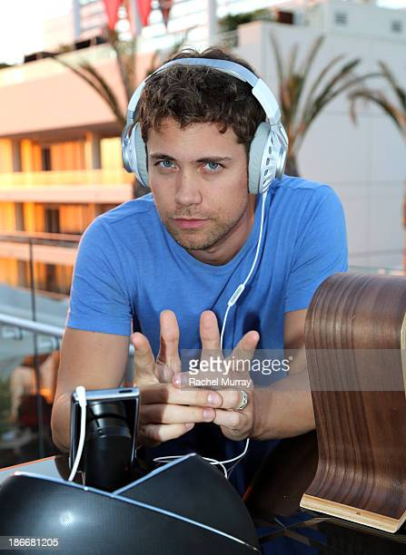 Actor Drew Seeley attends JBL 'Dare to Listen' Synchros S700 Headphone Los Angeles launch with DJ Jermaine Dupri at W Hollywood on November 2 2013 in...