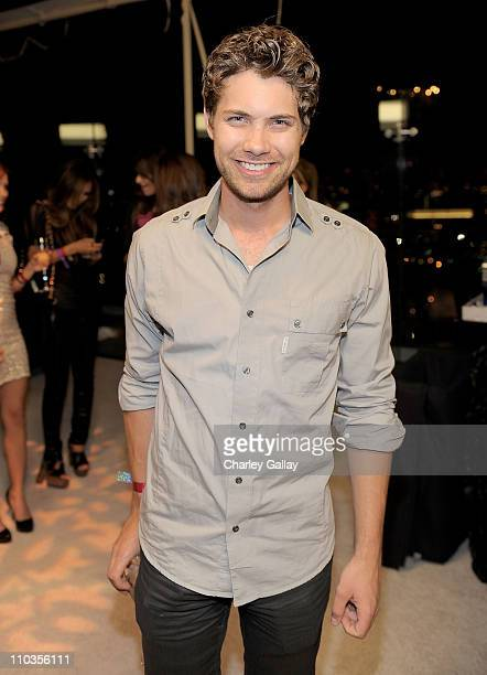 Actor Drew Seeley attends the E 20th anniversary party celebrating two decades of pop culture with Ciroc Ultra Premium Vodka held at The London Hotel...