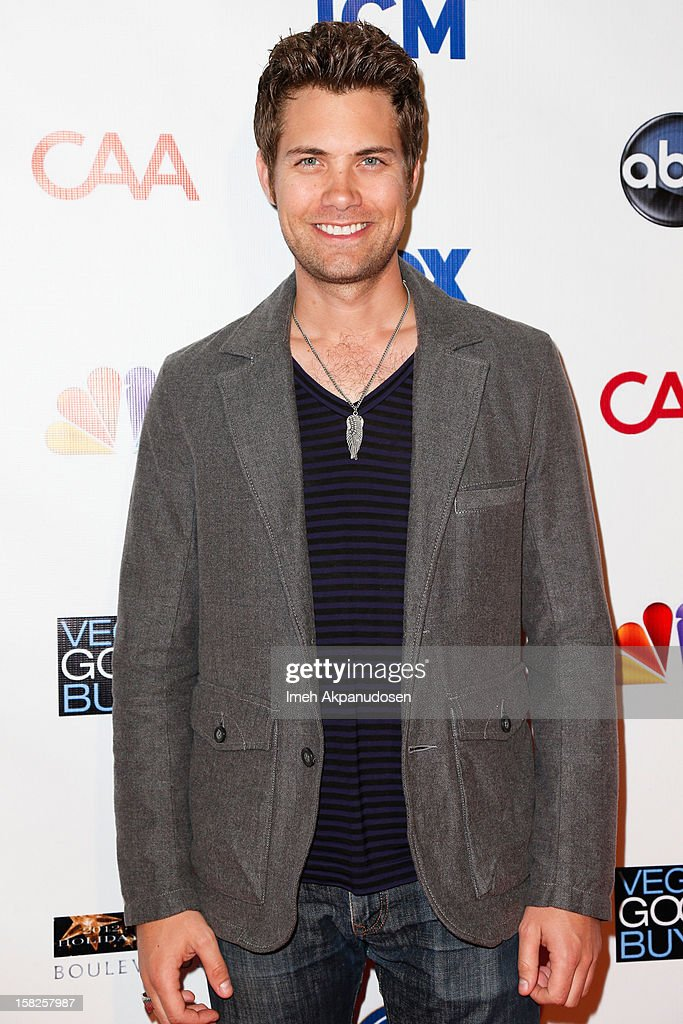 Actor Drew Seeley attends the Junior Hollywood Radio & Television Society (JHRTS) Holiday Party at Boulevard3 on December 11, 2012 in Hollywood, California.