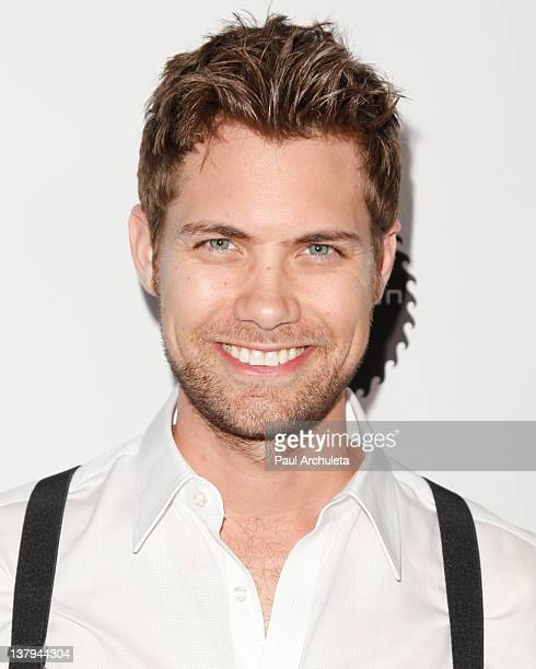 Actor Drew Seeley attends the 'Lights Camera Cure 2012 Hollywood DanceAThon' at Avalon on January 29 2012 in Hollywood California