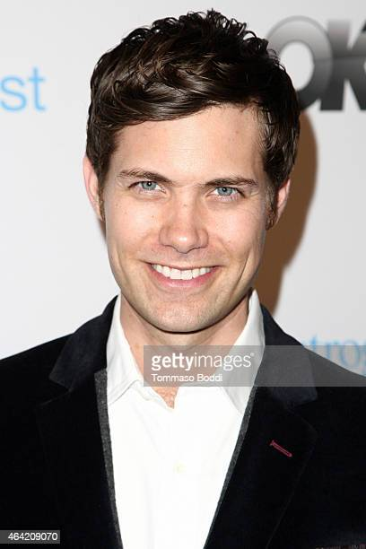 Actor Drew Seeley attends the Neutrogena Hydro Boost MyHabit With OKTV Oscars Viewing Party on February 22 2015 in Hollywood California