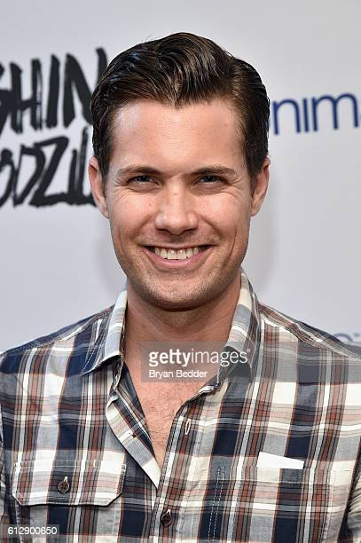 Actor Drew Seeley attends the 'Shin Godzilla' premiere presented by Funimation Films at AMC Empire 25n2016 New York Comic Con on October 5 2016 in...