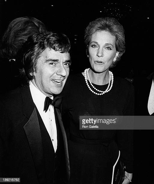 Actor Dudley Moore and actress Julie Andrews attend Tribute Gala Honoring Blake Edwards on November 17 1983 at the Beverly Hilton Hotel in Beverly...