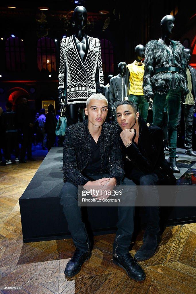 BALMAIN x H&M Paris Launch Party - Inside