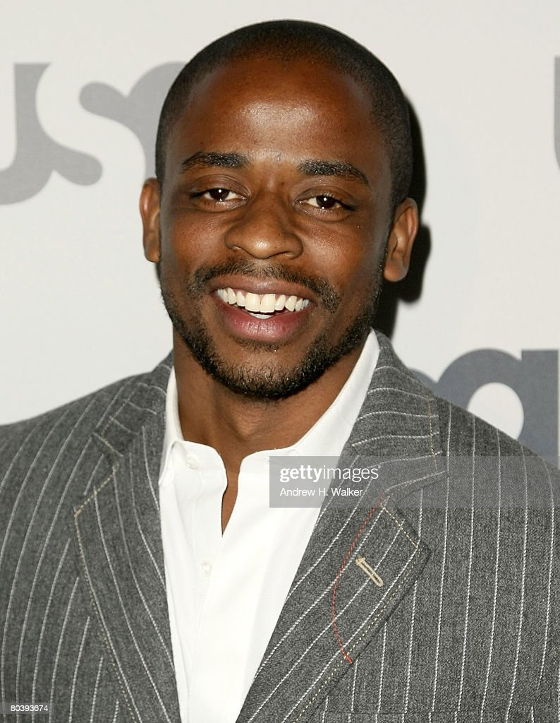 Actor Dule Hill attends the USA Network Upfront at The Modern on March 26, 2008 in New York City.