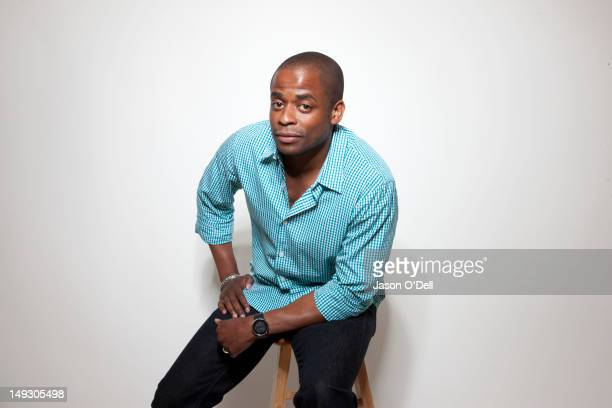 Actor Dule Hill is photographed at ComicCon for TV Guide Magazine on July 21 2011 in San Diego California