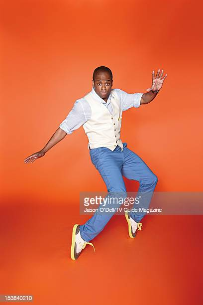 Actor Dule Hill is photographed for TV Guide Magazine on July 12 2012 on the TV Guide Magazine Yacht in San Diego California PUBLISHED IMAGE CREDIT...