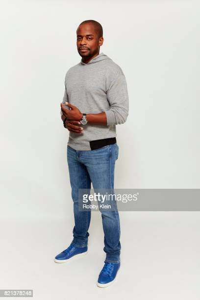Actor Dule Hill USA Network's 'Psych' poses for a portrait during ComicCon 2017 at Hard Rock Hotel San Diego on July 21 2017 in San Diego California
