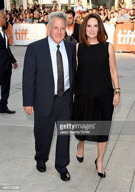 Actor Dustin Hoffman and Lisa Hoffman attends the 'Boychoir' premiere during the 2014 Toronto International Film Festival at Roy Thomson Hall on...