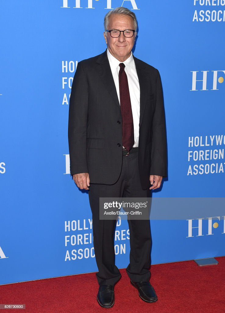 Actor Dustin Hoffman arrives at the Hollywood Foreign Press Association's Grants Banquet at the Beverly Wilshire Four Seasons Hotel on August 2, 2017 in Beverly Hills, California.