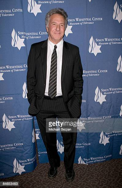 Actor Dustin Hoffman arrives at the Los Angeles premiere of 'Against The Tide' at the Director's Guild Of America on February 4 2009 in Los Angeles...
