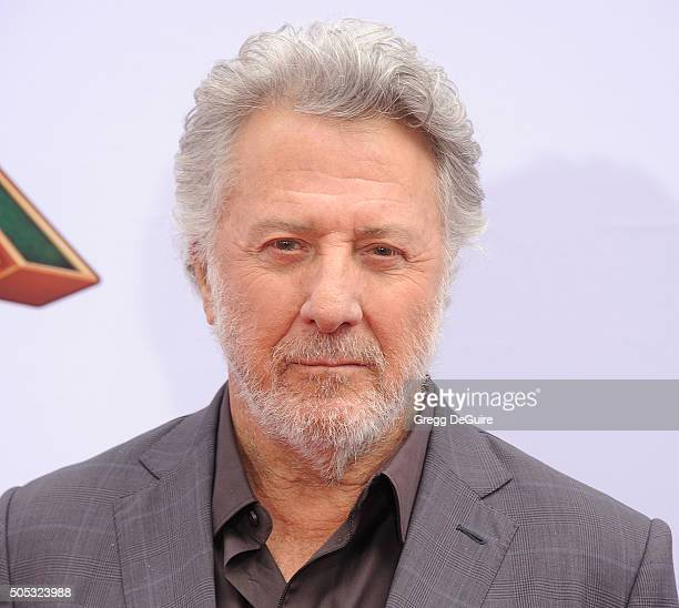 Actor Dustin Hoffman arrives at the premiere of 20th Century Fox's 'Kung Fu Panda 3' at TCL Chinese Theatre on January 16 2016 in Hollywood California