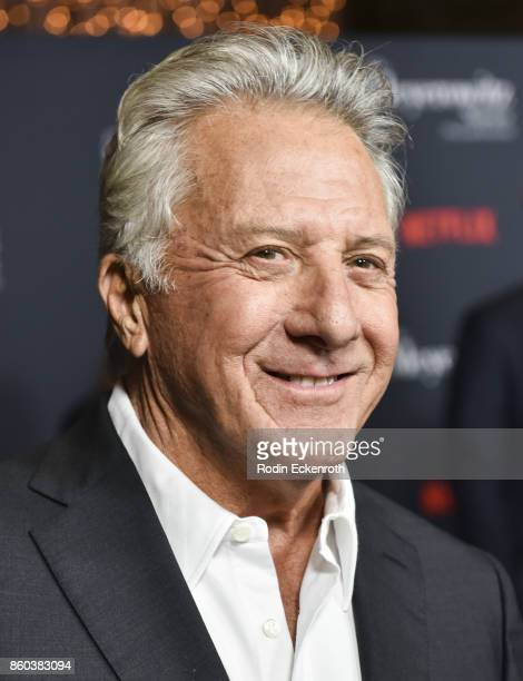 Actor Dustin Hoffman attends screening of Netflix's 'The Meyerowitz Stories ' at Directors Guild Of America on October 11 2017 in Los Angeles...