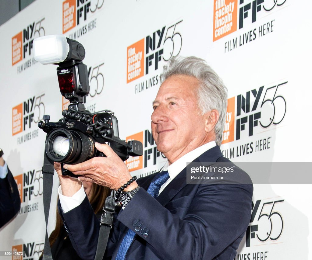 Actor Dustin Hoffman attends the 55th New York Film Festival screening of 'Meyerowitz Stories' at Alice Tully Hall on October 1, 2017 in New York City.