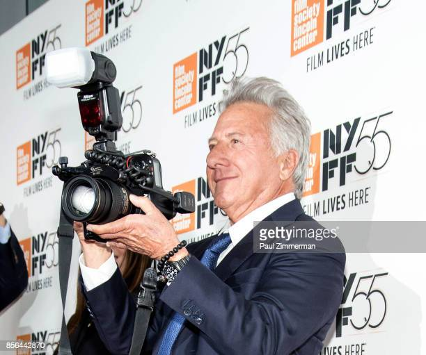 Actor Dustin Hoffman attends the 55th New York Film Festival screening of 'Meyerowitz Stories' at Alice Tully Hall on October 1 2017 in New York City