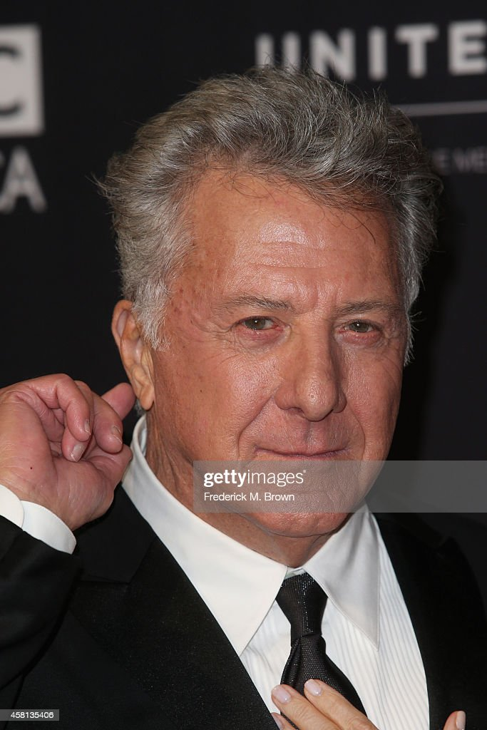 Actor <a gi-track='captionPersonalityLinkClicked' href=/galleries/search?phrase=Dustin+Hoffman&family=editorial&specificpeople=171356 ng-click='$event.stopPropagation()'>Dustin Hoffman</a> attends the BAFTA Los Angeles Jaguar Britannia Awards presented by BBC America and United Airlines at The Beverly Hilton Hotel on October 30, 2014 in Beverly Hills, California.