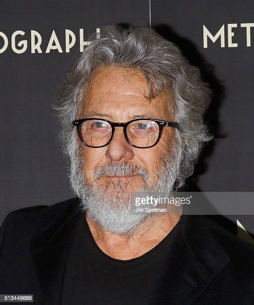 Actor Dustin Hoffman attends the Metrograph opening night at Metrograph on March 2 2016 in New York City