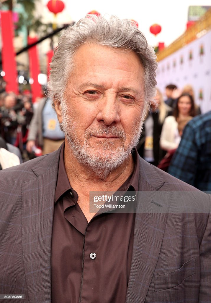 Actor <a gi-track='captionPersonalityLinkClicked' href=/galleries/search?phrase=Dustin+Hoffman&family=editorial&specificpeople=171356 ng-click='$event.stopPropagation()'>Dustin Hoffman</a> attends the premiere of DreamWorks Animation and Twentieth Century Fox's 'Kung Fu Panda 3' at the TCL Chinese Theatre on January 16, 2016 in Hollywood, California.
