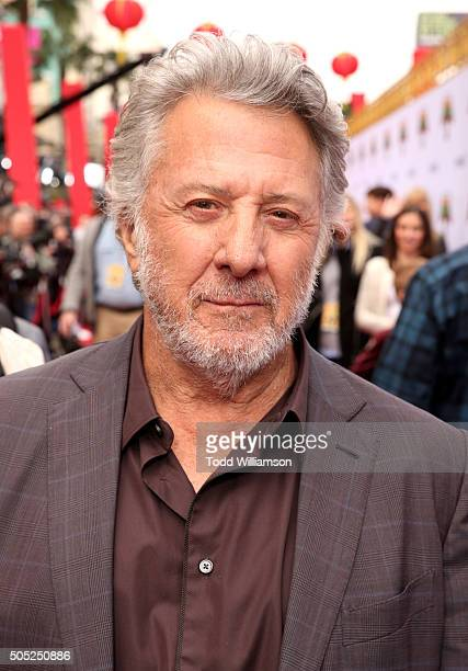 Actor Dustin Hoffman attends the premiere of DreamWorks Animation and Twentieth Century Fox's 'Kung Fu Panda 3' at the TCL Chinese Theatre on January...