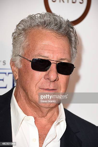 Actor Dustin Hoffman attends the screening of GKIDS' 'Kahlil Gibran's the Prophet' at Bing Theatre at LACMA on July 29 2015 in Los Angeles California