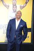 Actor Dwayne Johnson attends the Warner Bros Pictures premiere of 'Central Intelligence' held at Regency Village Theater on June 10 2016 in Westwood...