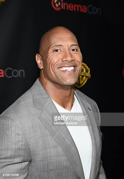 "Actor Dwayne Johnson attends Warner Bros Pictures Invites You to ""The Big Picture"" an Exclusive Presentation Highlighting the Summer of 2015 and..."