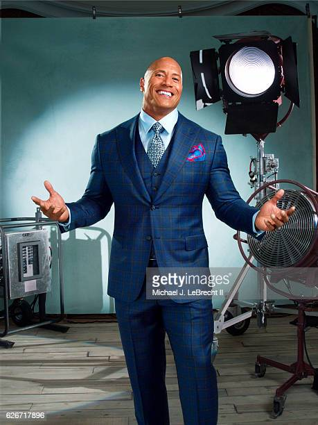 Actor Dwayne Johnson is photographed for Sports Illustrated on November 14 2016 in Beverly Hills California COVER IMAGE CREDIT MUST READ Michael J...