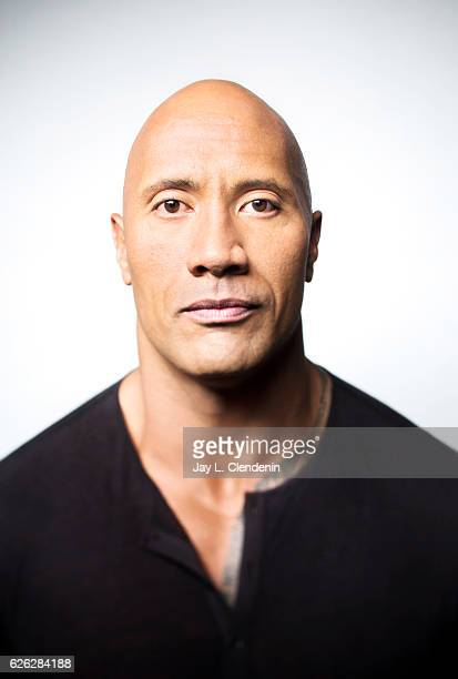 Actor Dwayne 'The Rock' Johnson is photographed for Los Angeles Times on November 13 2016 in Los Angeles California PUBLISHED IMAGE CREDIT MUST READ...