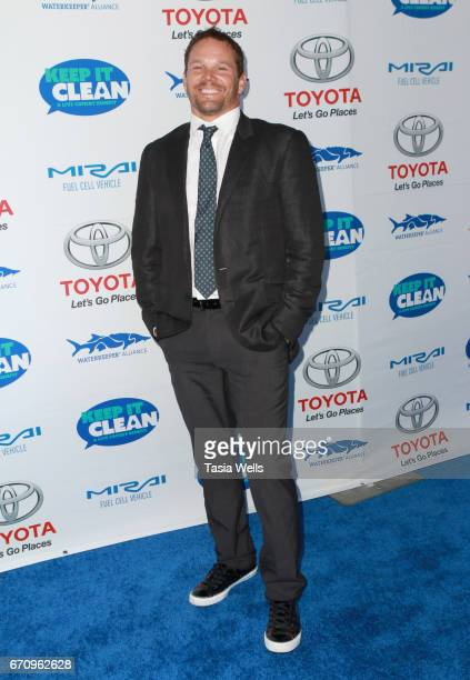 Actor Dylan Bruno attends Keep it Clean Live Comedy Benefit for Waterkeeper Alliance at Avalon Hollywood on April 20 2017 in Los Angeles California