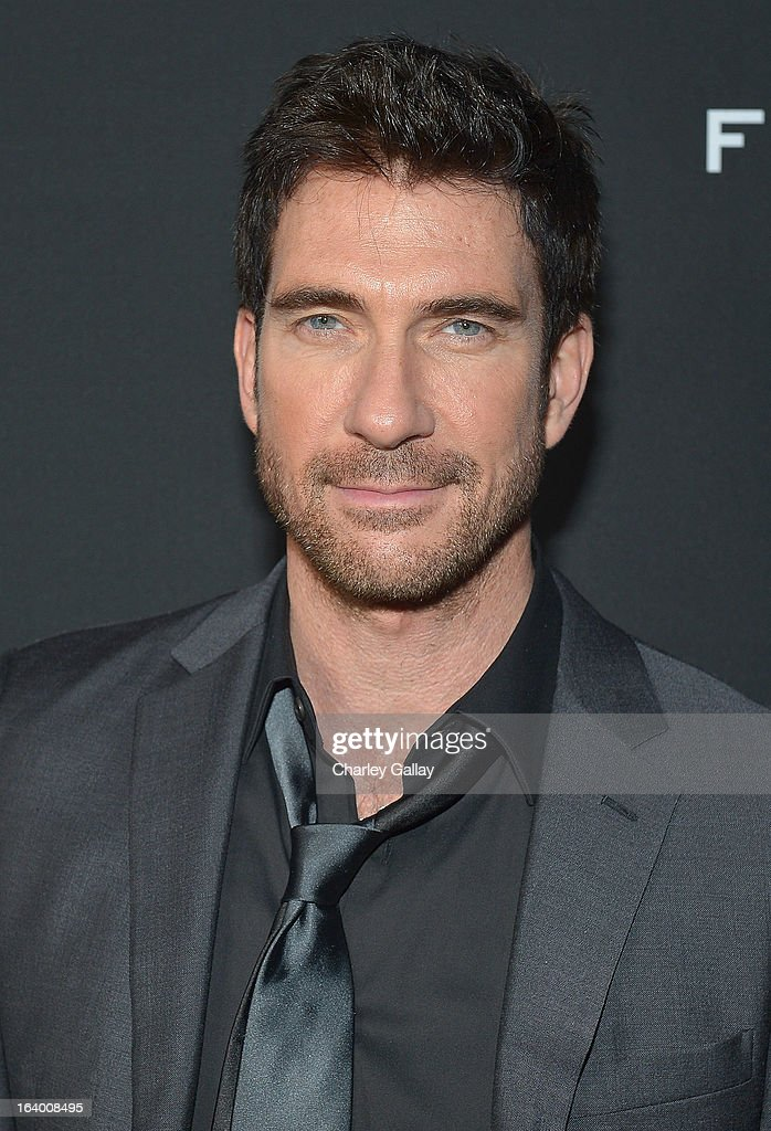 Actor Dylan McDermott attends Brioni Sponsors Film District's World Premiere Of 'Olympus Has Fallen' ArcLight Cinemas on March 18, 2013 in Hollywood, California.